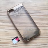 Чехол для iPhone 7 Meloco case со стразами
